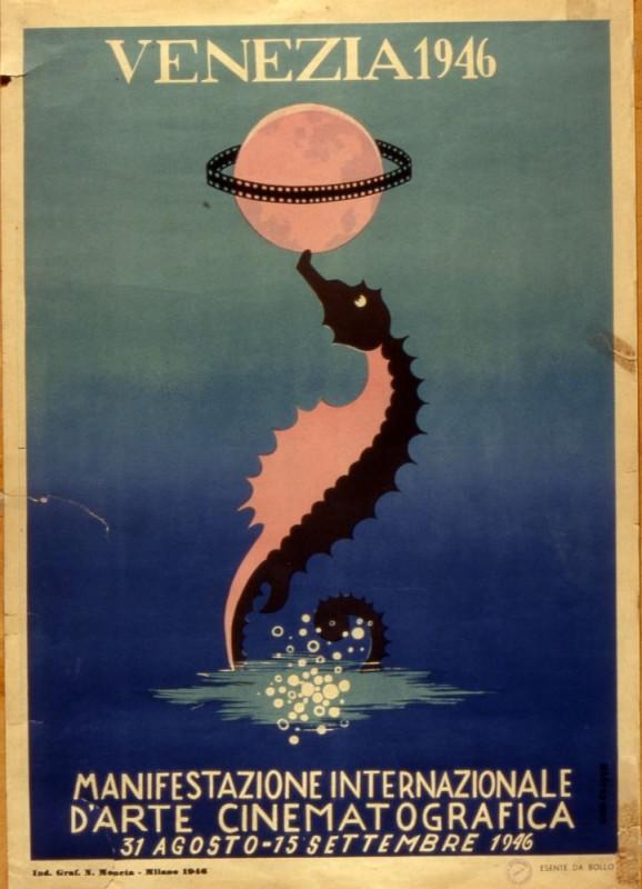 Il manifesto della Mostra del Cinema di Venezia 1946