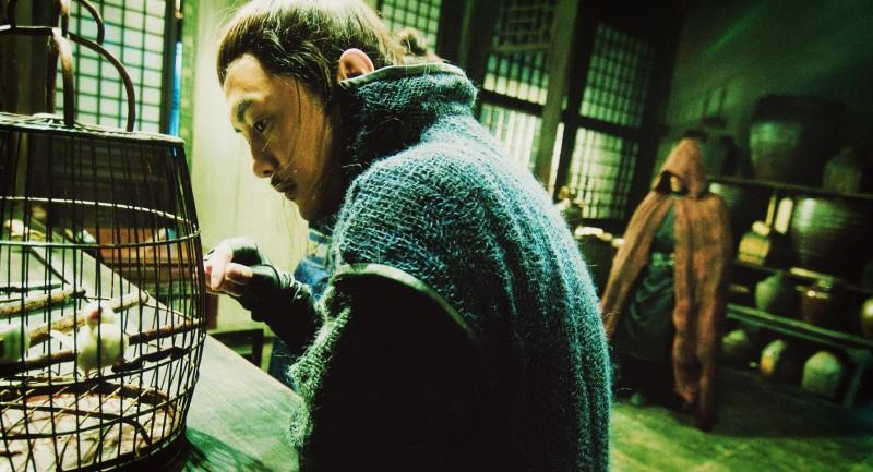 Jung Woo Sung in una scena del film Reign of Assassins