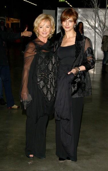 Laura Morante con Alberta Ferretti nel 2010