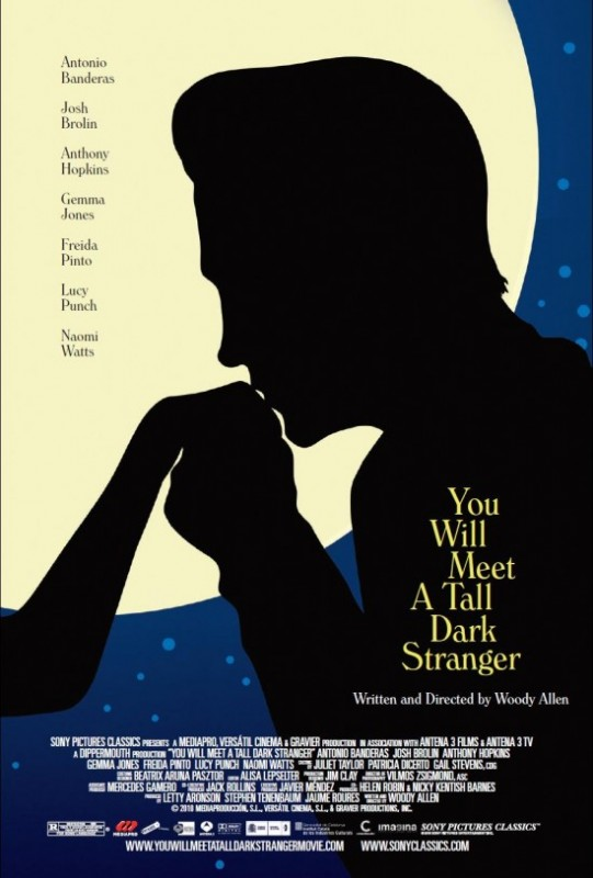 Locandina di You Will Meet a Tall Dark Stranger