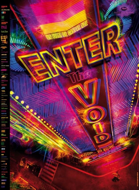 Enter the Void: la locandina del film