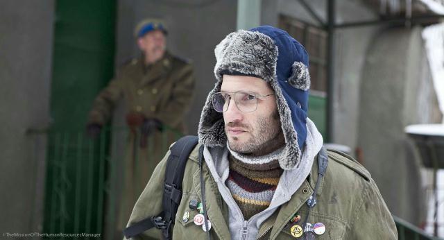 scena del film Il responsabile delle risorse umane di E. Riklis