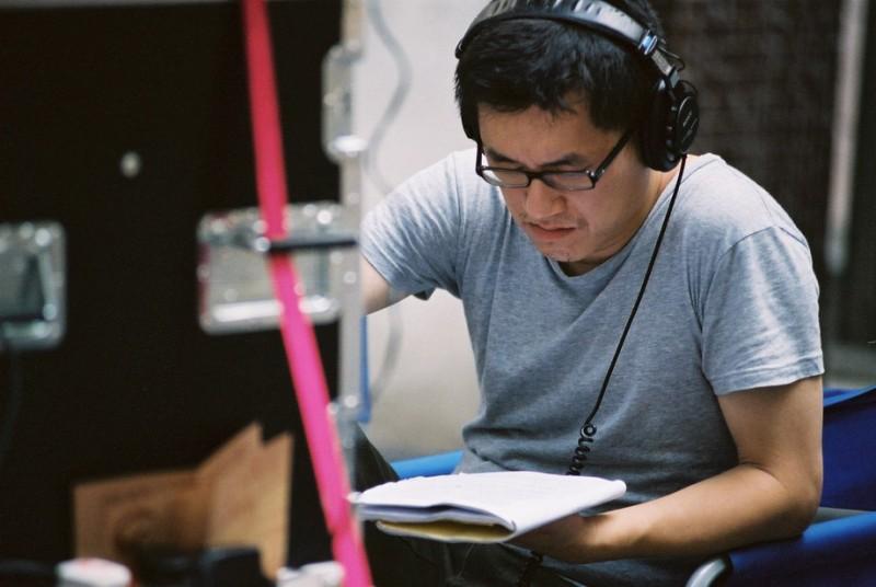Su Chao-Bin sul set del film Reign of Assassins