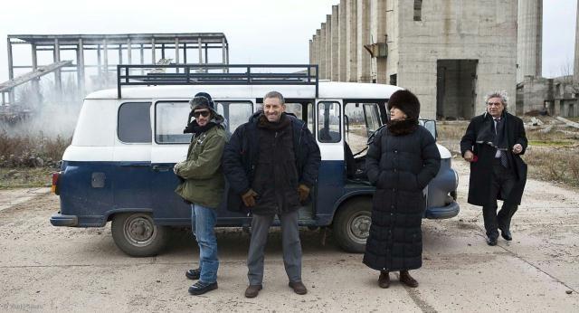 Una scena del film Il responsabile delle risorse umane di E. Riklis