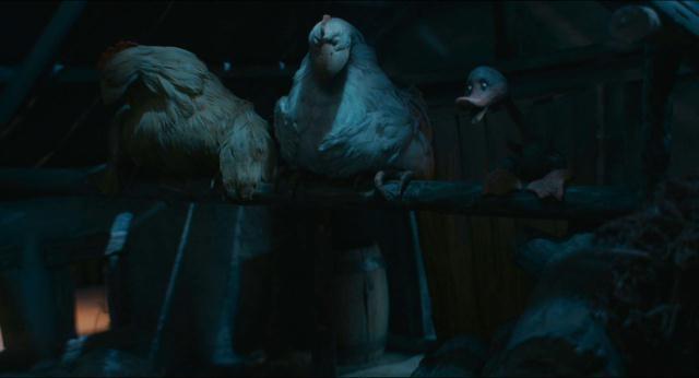 Una scena del film The Ugly Duckling 2010