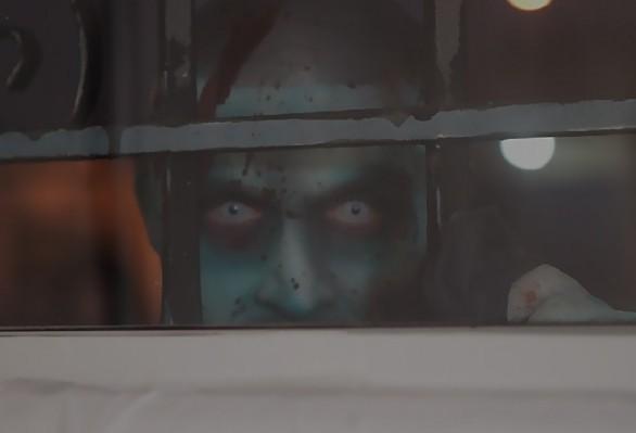 Uno degli zombie del film L.A. Zombie