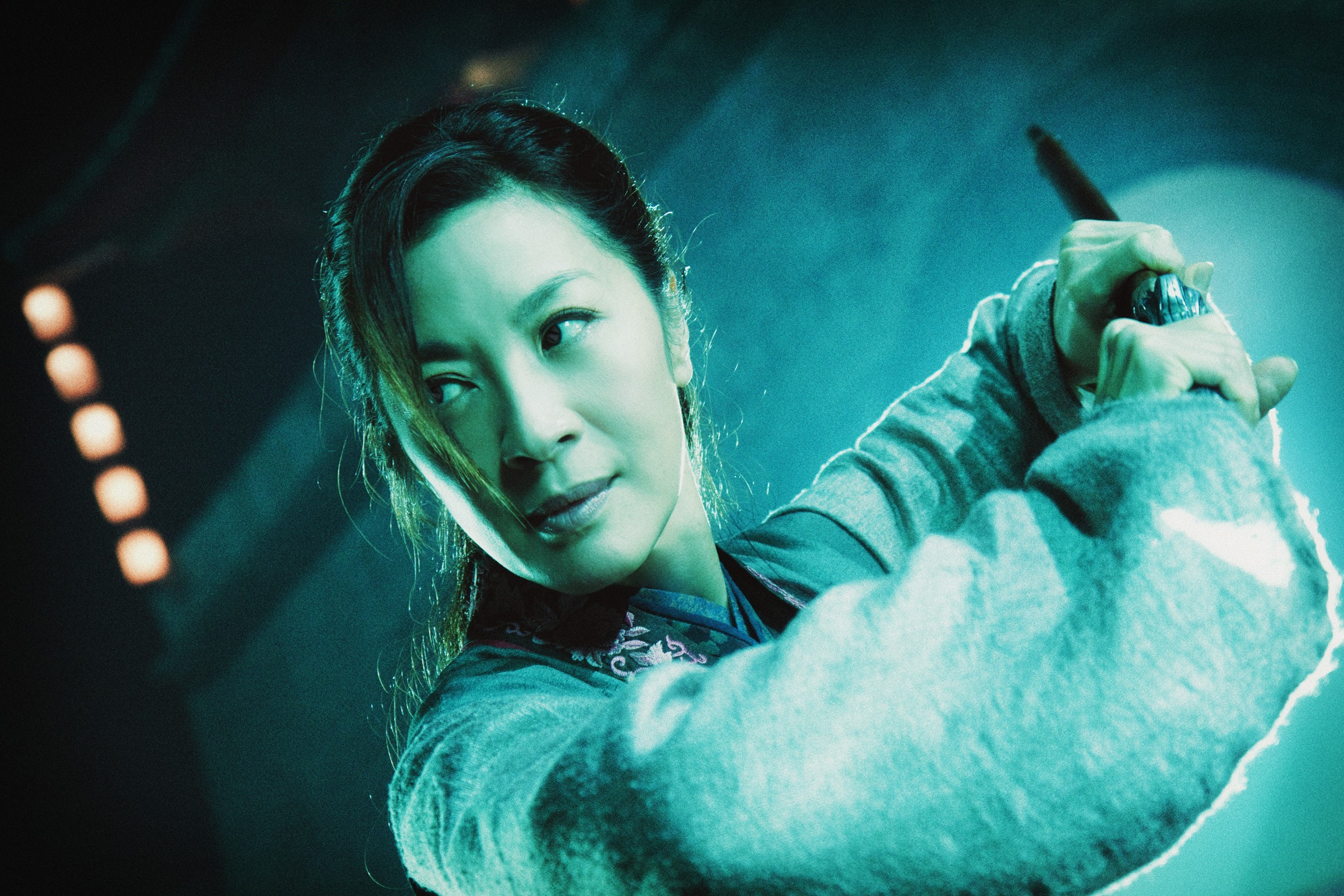 Wallpaper: Michelle Yeoh in Reign of Assassins