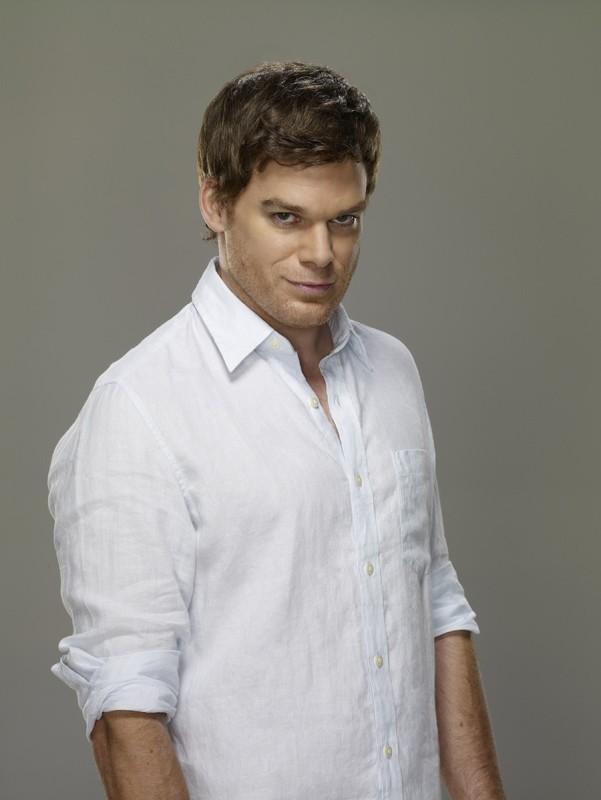 Dexter Morgan interpretato da Michael C. Hall per la 4 stagione di Dexter