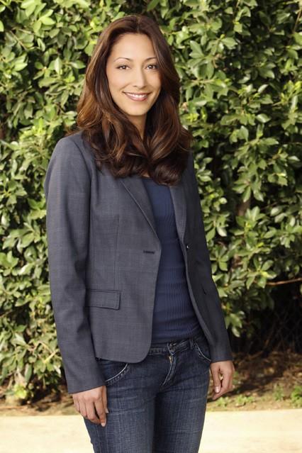 Christina Chang in una foto promozionale della serie No Ordinary Family