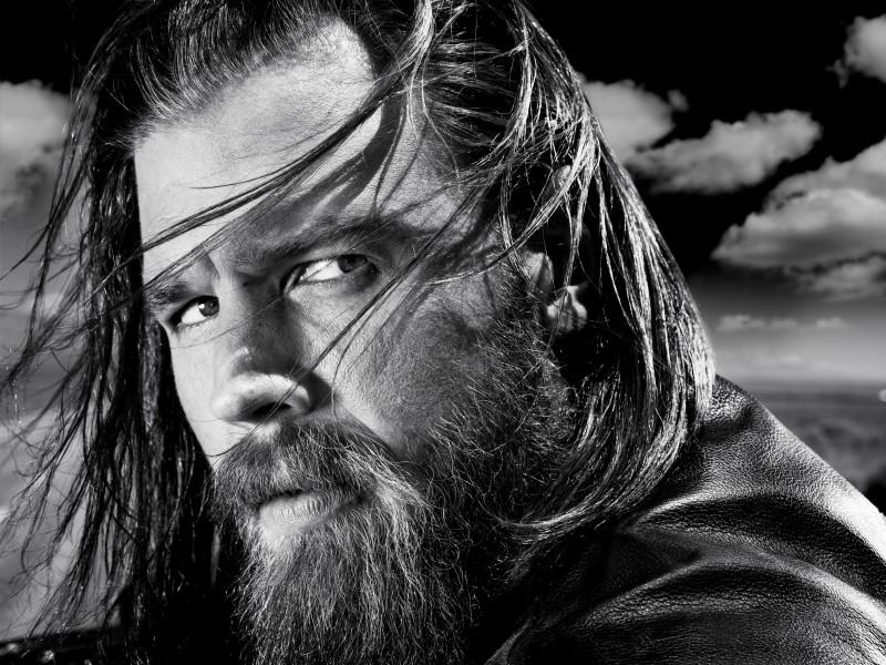 Ryan Hurst in una foto promozionale della stagione 3 di Sons of Anarchy