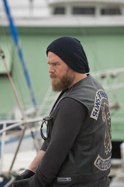 Ryan Hurst nella premiere della stagione 3 di Sons of Anarchy