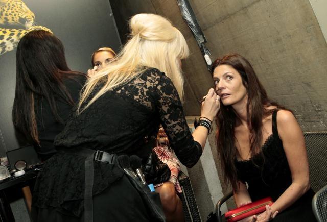 Locarno 2010: Chiara Mastroianni al trucco