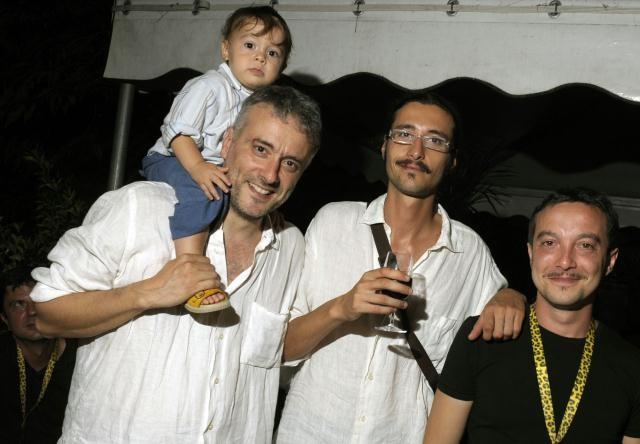 Locarno 2010: interpreti e regista di 'Pietro': Daniele Gaglianone, Francesco Lattarulo e Pietro Casella