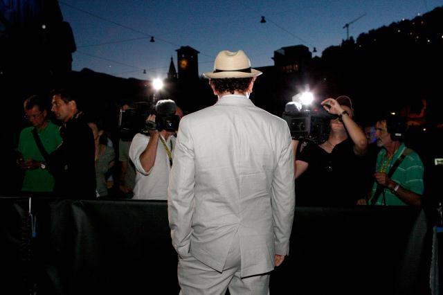 Locarno 2010: John Reilly protagonista di Cyrus posa per i fotografi