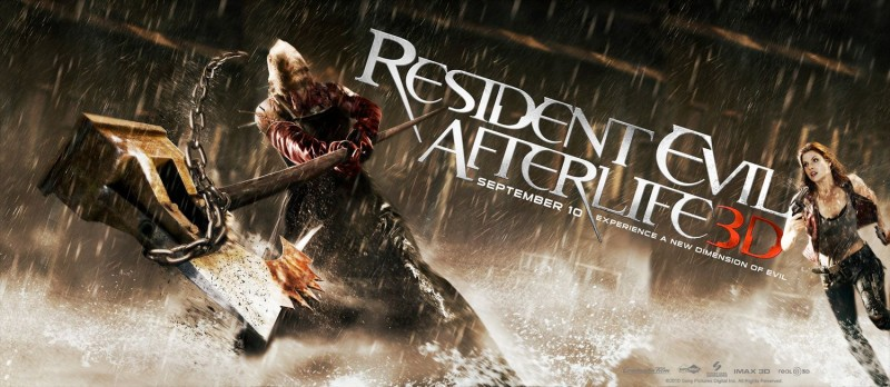 Nuovo poster con sviluppo orizzontale per Resident Evil: Afterlife