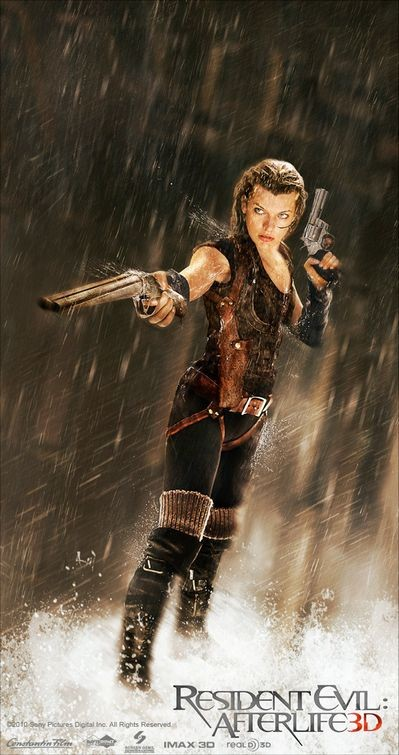 Nuovo poster per Resident Evil: Afterlife 3D