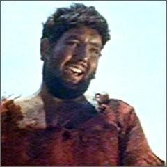 Aldo \'Kronos\' Pedinotti in una scena di un film.