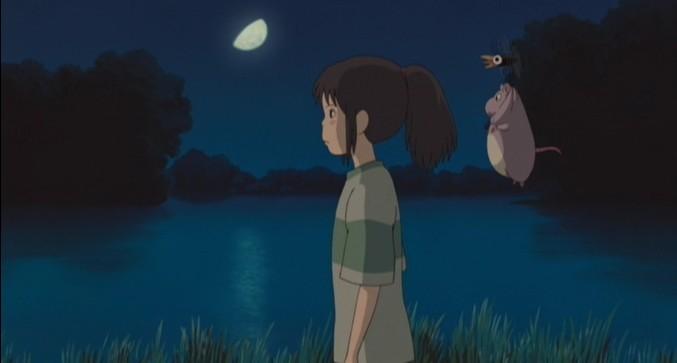 Chihiro in una scena de La città incantata - Spirited Away
