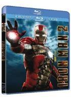 La copertina di Iron Man 2 (blu-ray)