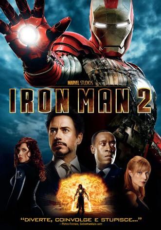 La copertina di Iron Man 2 (dvd)