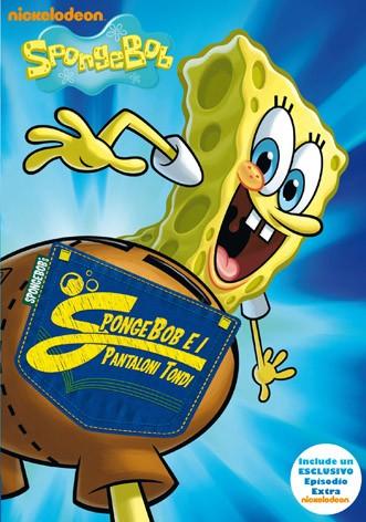 La copertina di SpongeBob e i pantaloni tondi (dvd)