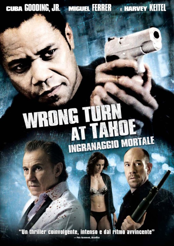 La copertina di Wrong Turn at Tahoe - Ingranaggio mortale (dvd)