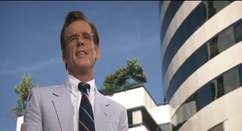 Nick Nolte in una scena del film Cape Fear - Il promontorio della paura