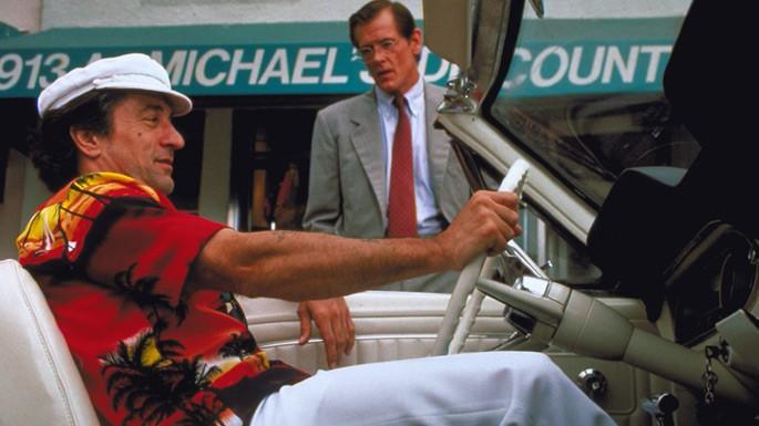 Robert De Niro e Nick Nolte in una scena del film Cape Fear - Il promontorio della paura