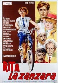 La copertina di Rita la zanzara (dvd)