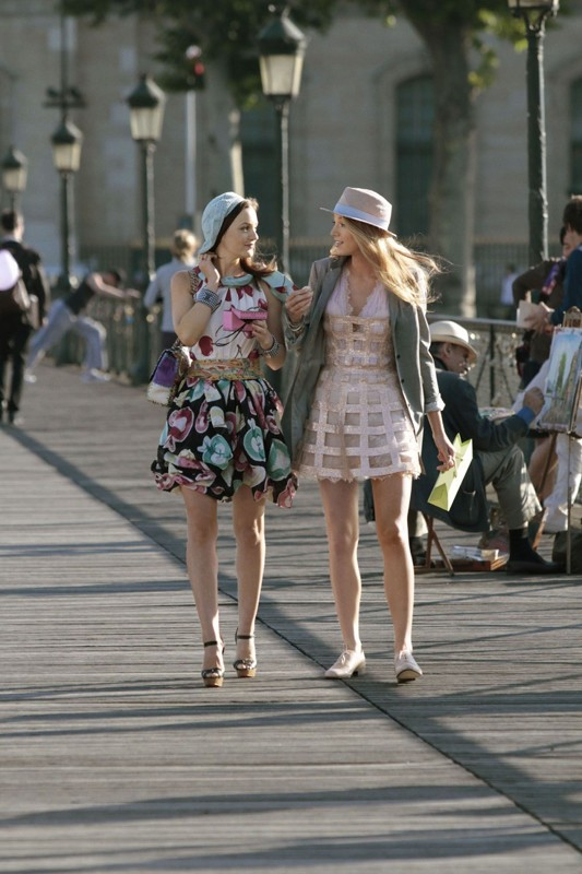 Leighton Meester e Blake Lively in una prima immagine della stagione 4 di Gossip Girl