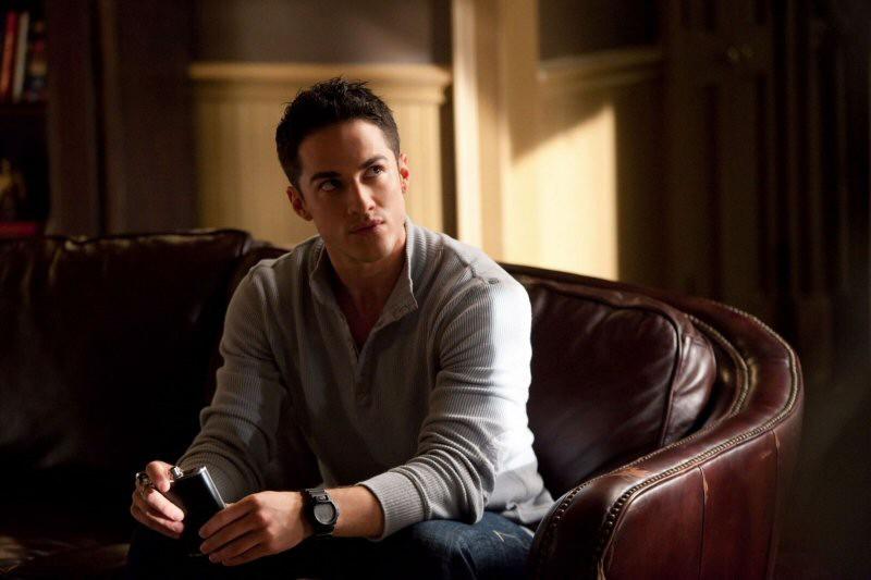 Michael Trevino in una scena dell'episodio The Return di Vampire Diaries