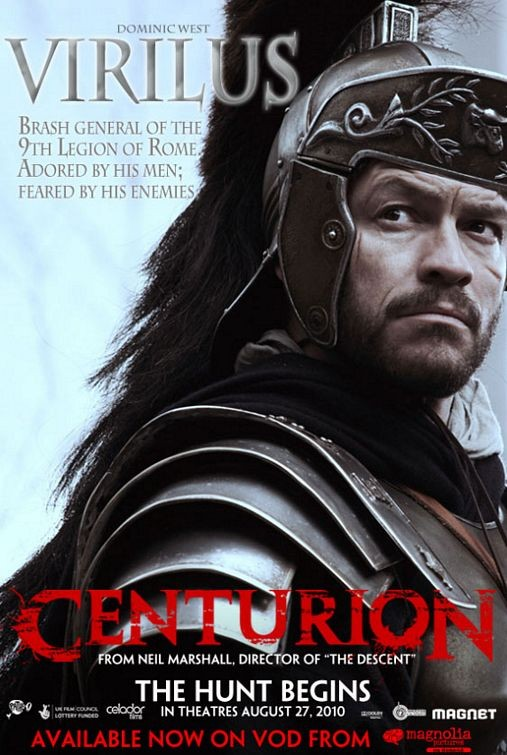 Character poster per Centurion - Dominic West