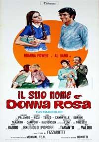 La copertina di Il suo nome è Donna Rosa (dvd)