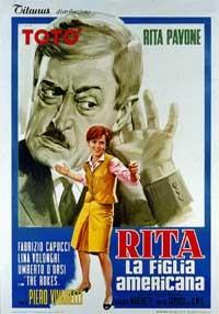 La copertina di Rita la figlia americana (dvd)