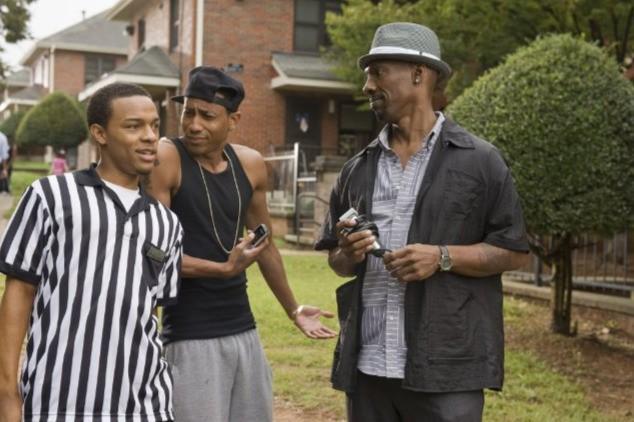 Bow Wow, Charlie Murphy e Brandon T. Jackson nel film Lottery Ticket (2010)