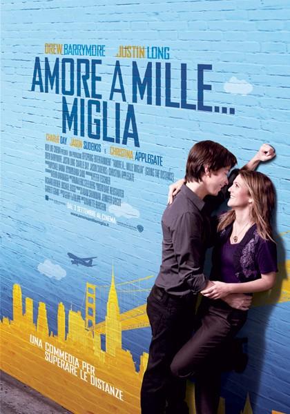 Locandina italiana della commedia Amore a mille... miglia