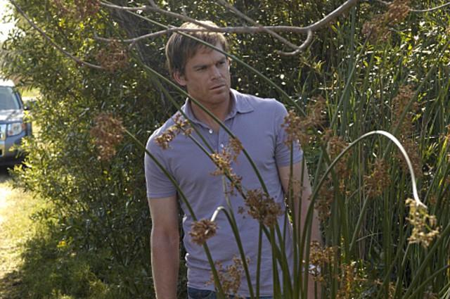 Michael C. Hall in una scena di My Bad di Dexter