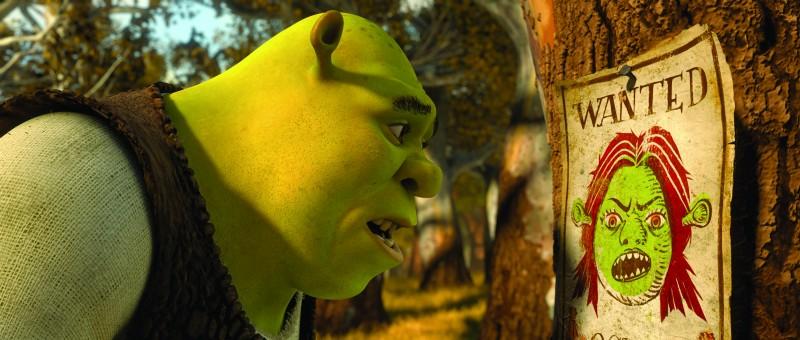 Shrek preoccupato per Fiona nel film Shrek e vissero felici e contenti