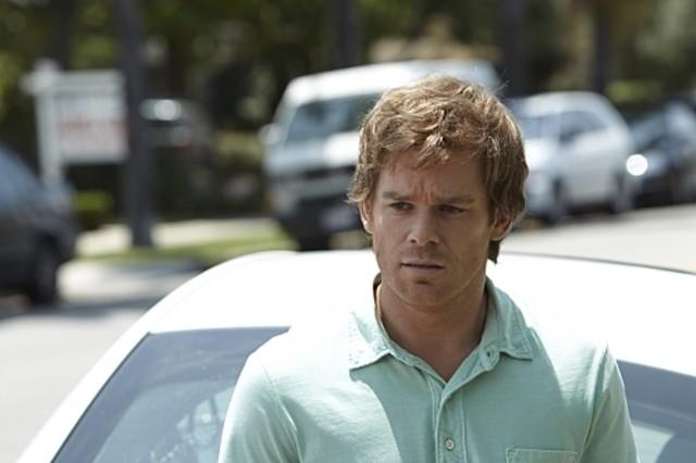 Un'immagine di Michael C. Hall dalla premiere della stagione 5 di Dexter