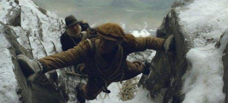 Benno Fürmann e Florian Lukas in un'immagine del film North Face - Una storia vera