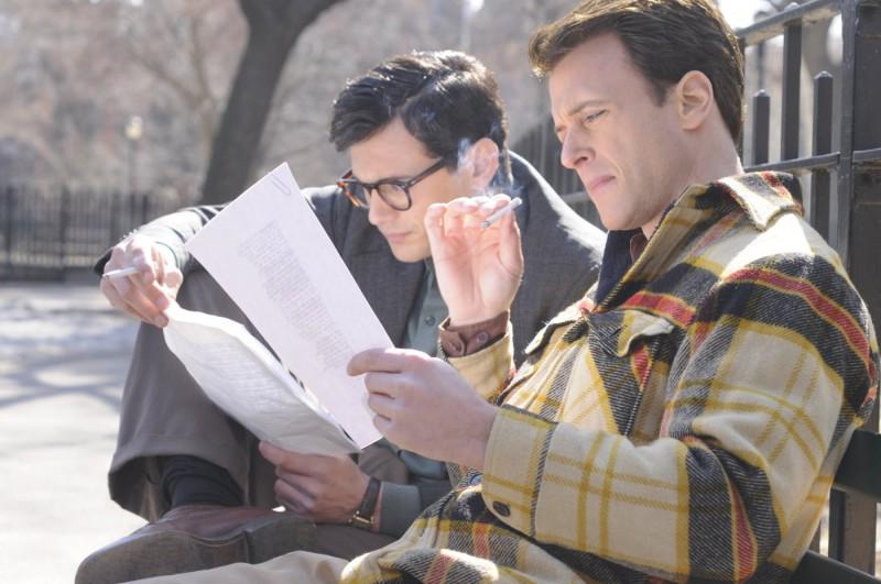 James Franco e Todd Rotondi in un'immagine del film Howl