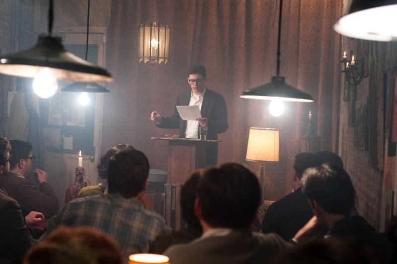 James Franco in un'immagine del film Howl