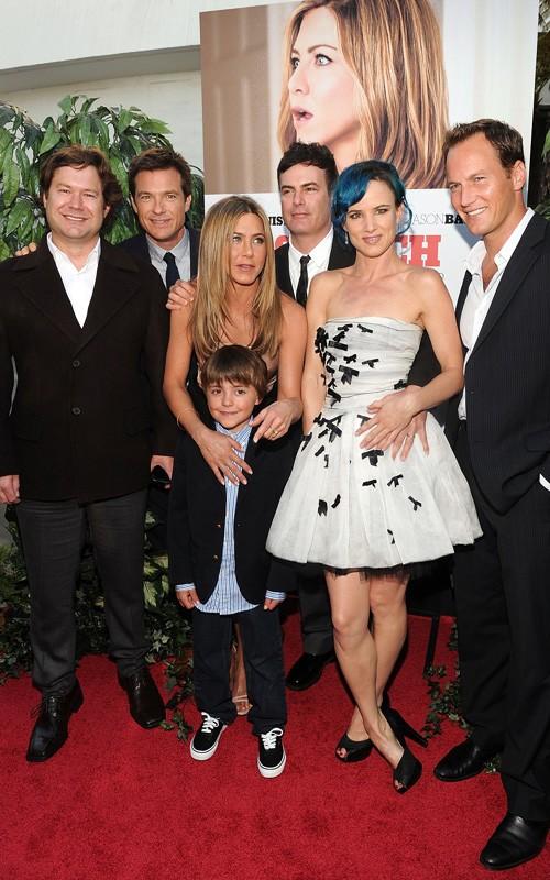 Jason Bateman, Jennifer Aniston, Thomas Robinson, Juliette Lewis e Patrick Wilson alla premiere di The Switch, Agosto 2010
