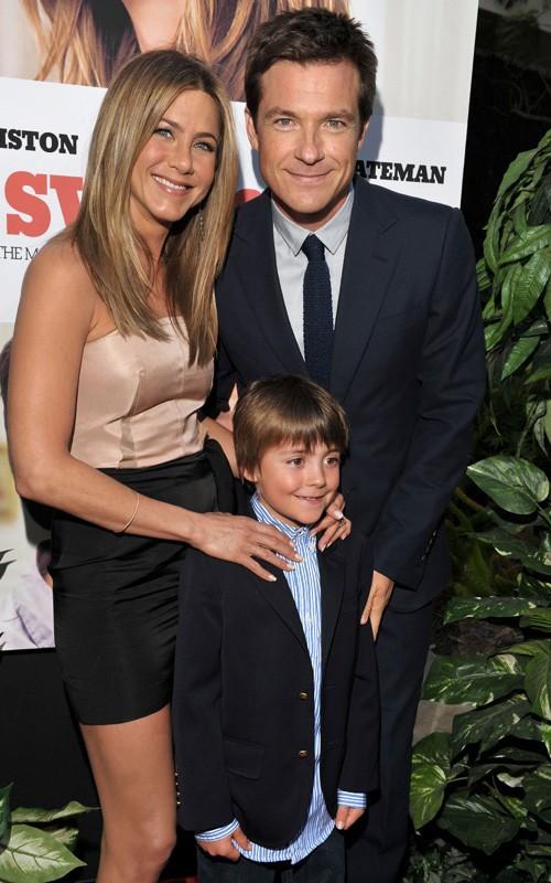 Jennifer Aniston, Thomas Robinson e Jason Bateman alla premiere di Due cuori e una provetta, il 16 Agosto 2010