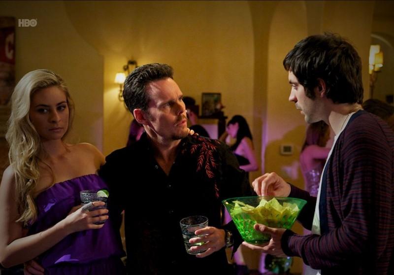 Kevin Dillon e Rhys Coiro nell'episodio Tequila and Coke di Entourage
