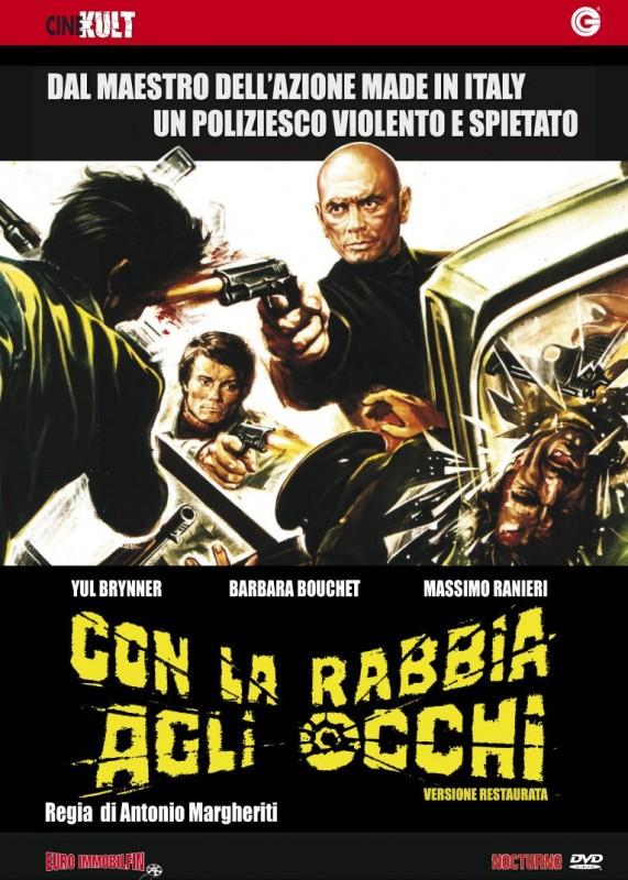 La copertina di Con la rabbia agli occhi (dvd)