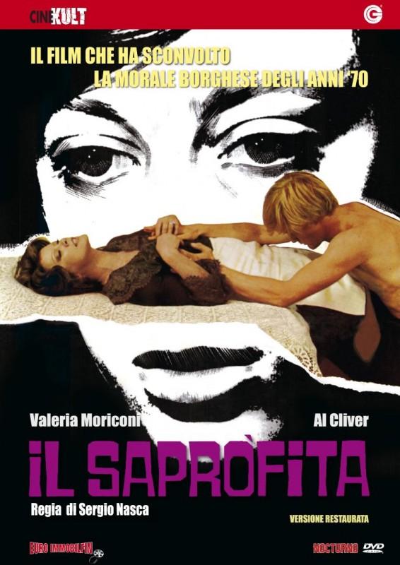 La copertina di Il saprofita (dvd)