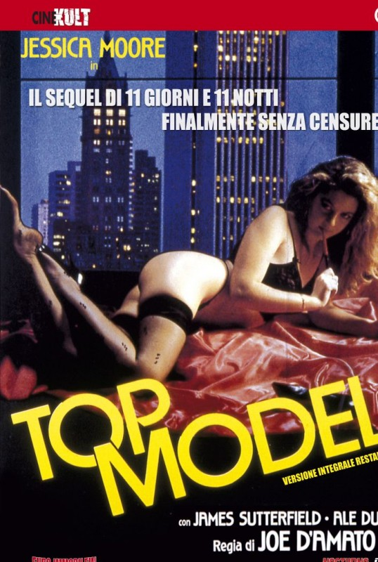 La copertina di Top Model (dvd)