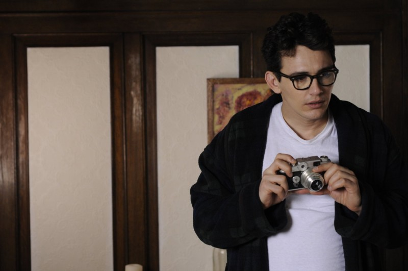 Un'immagine di James Franco dal film Howl