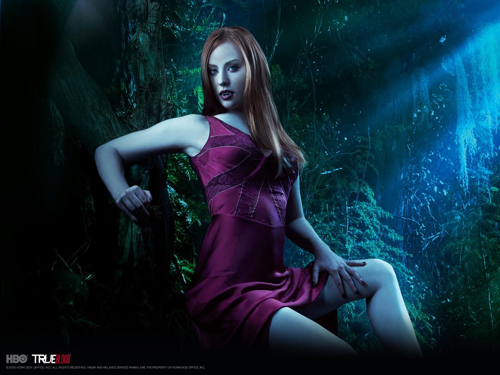 Wallpeper: Deborah Ann Woll per la stagione 3 di True Blood